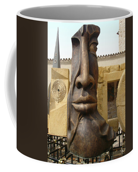 The Face Coffee Mug featuring the photograph The Face by Ellen Henneke