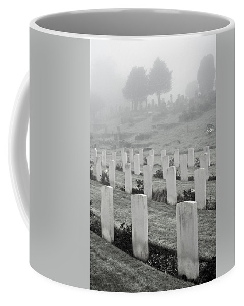 Uk Coffee Mug featuring the photograph The Fallen by Christopher Rees