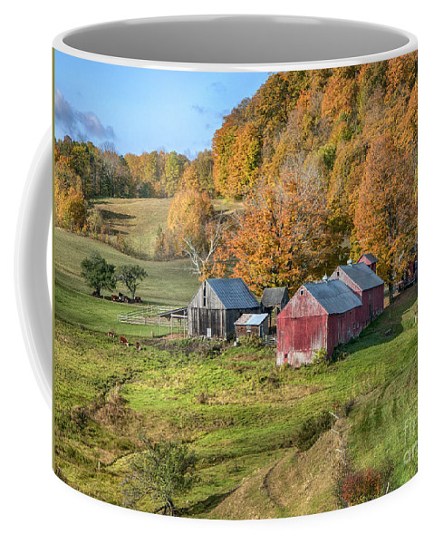 Jenne Farm Coffee Mug featuring the photograph The Farm by Claudia Kuhn