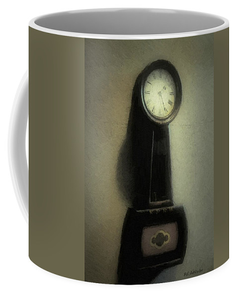 Antique Coffee Mug featuring the painting The Forgiveness Of Time by RC DeWinter