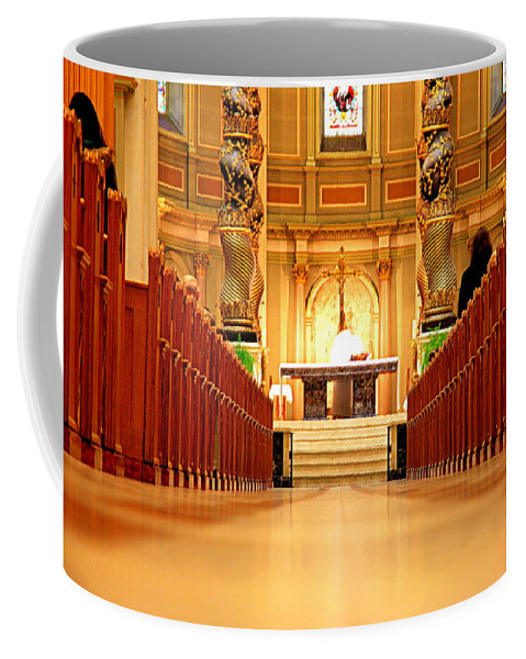 Ceremony Coffee Mug featuring the photograph The Function by Valentino Visentini