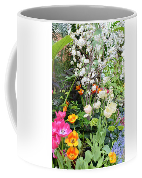 Buffalo Coffee Mug featuring the photograph The Gardens by Kathleen Struckle