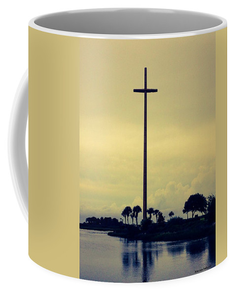 Cross Coffee Mug featuring the photograph The Great Cross by Marian Palucci-Lonzetta