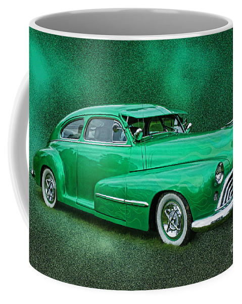 Cars Coffee Mug featuring the photograph The Green Ghost by Randy Harris