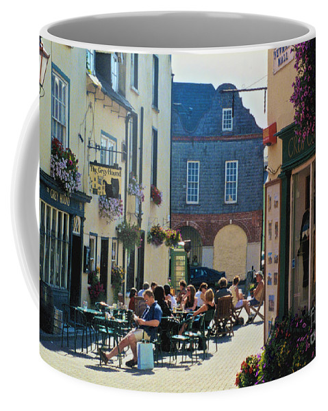 The Grey Hound Coffee Mug featuring the photograph The Grey Hound by William Norton