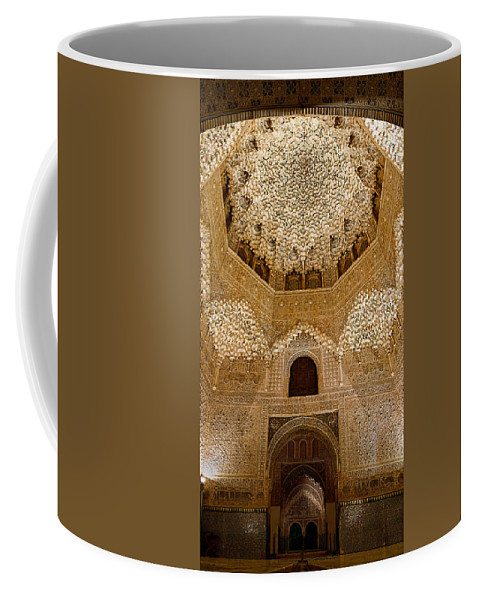 Alhambra Coffee Mug featuring the photograph The Hall Of The Arabian Nights by Weston Westmoreland