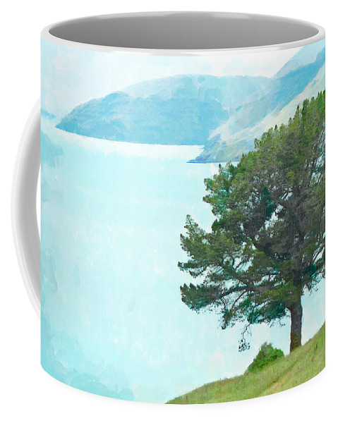 Canterbury Coffee Mug featuring the photograph The Harbour by Steve Taylor