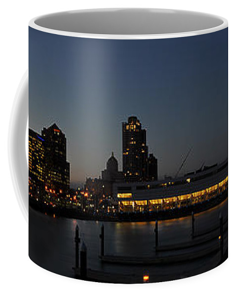 City Coffee Mug featuring the photograph The Heart Of Milwaukee by Deborah Klubertanz