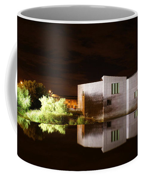 Landscape Coffee Mug featuring the photograph The Hepworth by Andy Beattie Photography