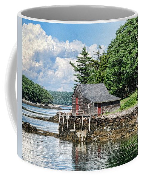 The Hideaway Coffee Mug featuring the photograph The Hideaway by Phyllis Taylor
