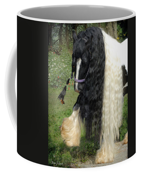 Butterfly Coffee Mug featuring the photograph The Hitcher by Fran J Scott
