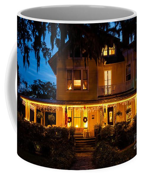 Amelia Island Coffee Mug featuring the photograph The Hoyt House by Dawna Moore Photography