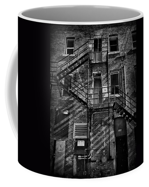Street Photography Coffee Mug featuring the photograph The Hub Two by The Artist Project