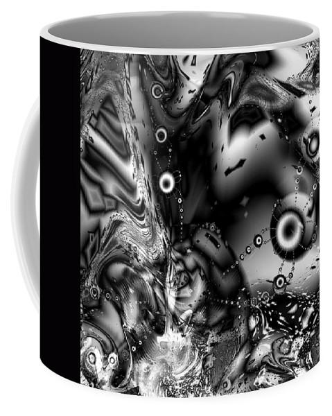 Invaders Coffee Mug featuring the digital art The Invaders by Kiki Art