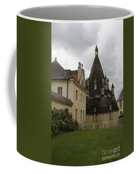 Kitchen Coffee Mug featuring the photograph The Kitchenbuilding - Abbey Fontevraud by Christiane Schulze Art And Photography