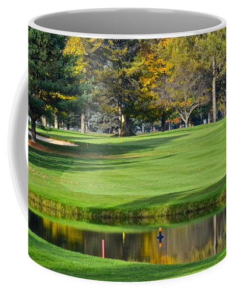 Tree Coffee Mug featuring the photograph The Layup by Frozen in Time Fine Art Photography
