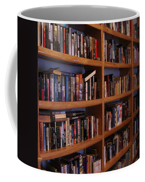 Library Coffee Mug featuring the photograph The Library by Lovina Wright