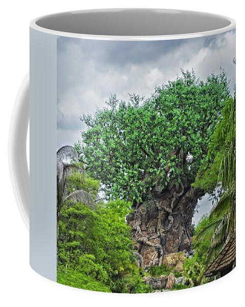 Magic Kingdom Coffee Mug featuring the photograph The Living Tree Walt Disney World by Thomas Woolworth