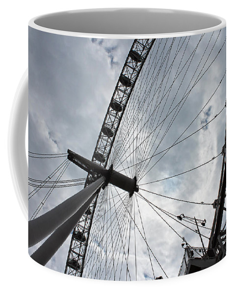 London Coffee Mug featuring the photograph The London Eye by Tony Murtagh