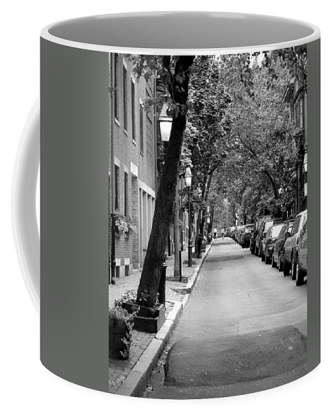 Black And White Photography Coffee Mug featuring the digital art The Long And Narrow by Kirt Tisdale