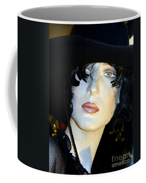 Mannequins Coffee Mug featuring the photograph The Look by Ed Weidman