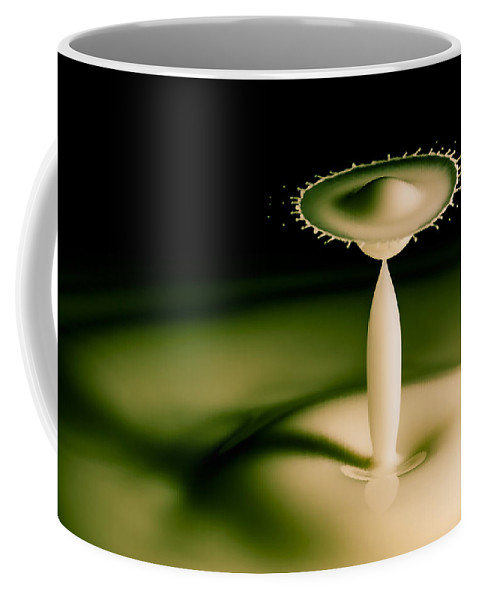 Drop Coffee Mug featuring the photograph The Man With A Huge Hat by Marc Garrido