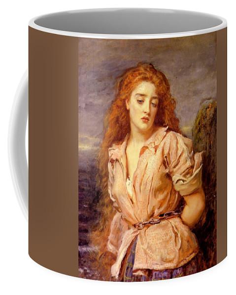 John Everett Mailas Coffee Mug featuring the digital art The Matyr Of The Solway by John Everett Mailas