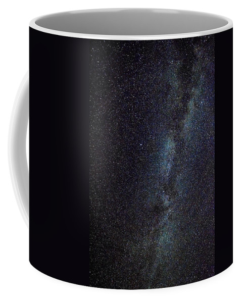 Kentucky Coffee Mug featuring the photograph The Milky Way Galaxy by Brett Engle