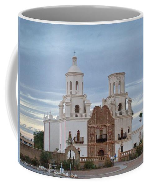 Coffee Mug featuring the photograph The Missioin Of San Xavier 10 by Douglas Barnett