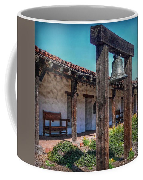 San Francisco Coffee Mug featuring the photograph The Mission Bell by Hanny Heim