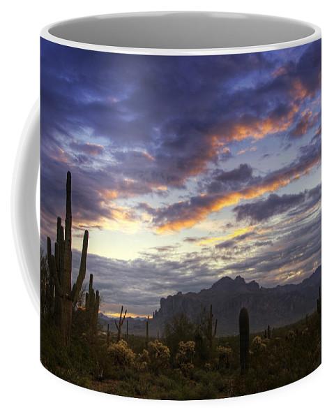 Sunrise Coffee Mug featuring the photograph The Morning Glow by Saija Lehtonen