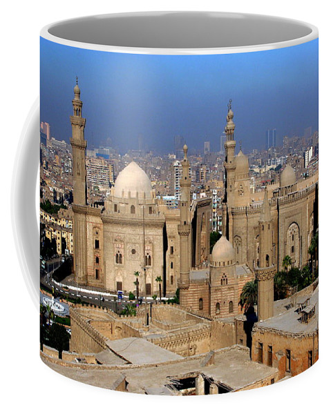Mosque Coffee Mug featuring the photograph The Mosque Of Al-azhar by Laurel Talabere