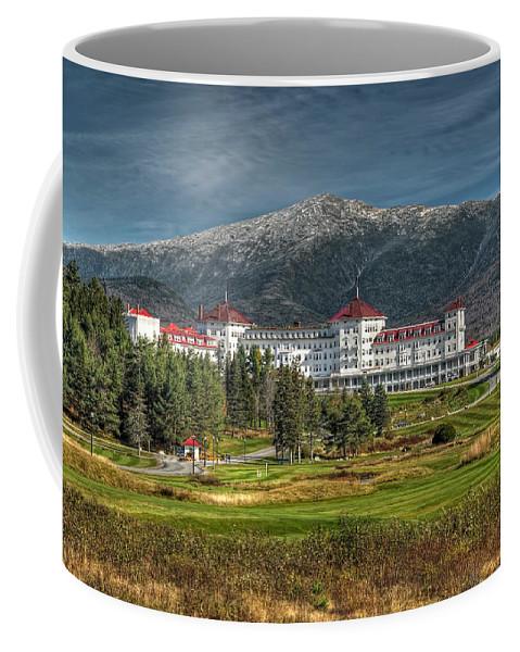 Mount Washington Hotel Coffee Mug featuring the photograph The Mount Washington Hotel by Liz Mackney