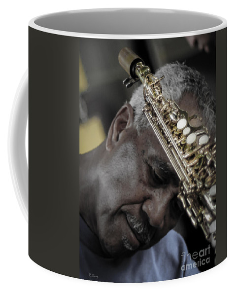 Jazz Coffee Mug featuring the photograph The Musicians Humble Bow To Applause by Rene Triay Photography