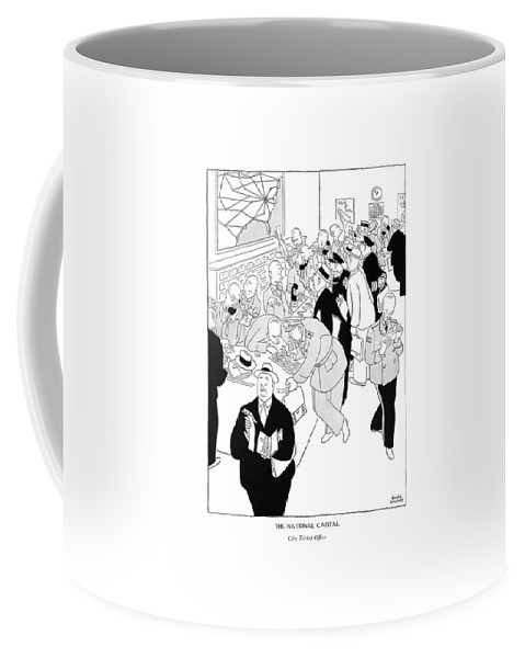 6372c826589 The National Capital City Ticket Of?ce Coffee Mug