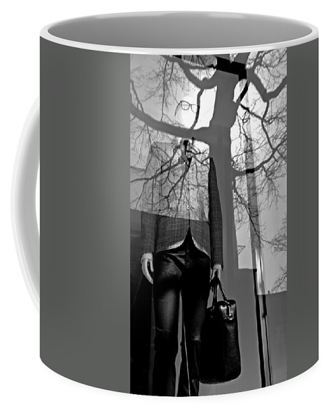 Mannequin Coffee Mug featuring the photograph The Office by Diana Angstadt