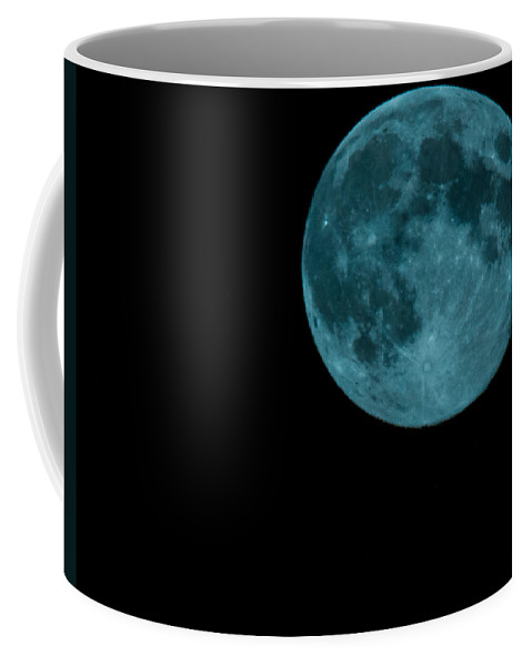 Sky Coffee Mug featuring the photograph The Official Blue Moon Of 2013-august 20-21 by Eti Reid