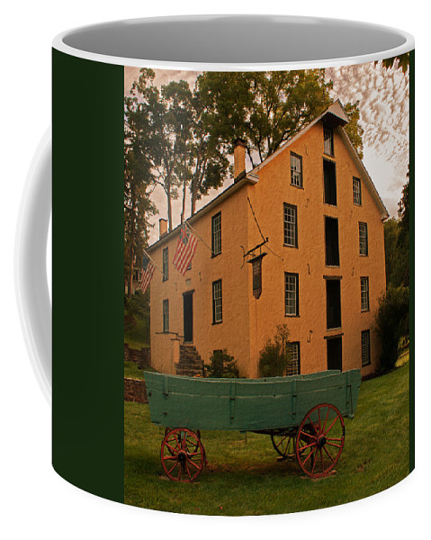 Mill Coffee Mug featuring the photograph The Old Grist Mill by Michael Porchik