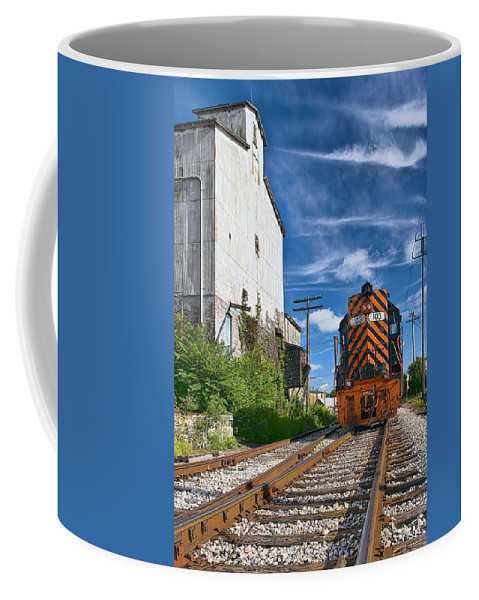 Architecture Coffee Mug featuring the photograph The Old Mill by Marcia Colelli