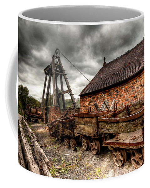 Architecture Coffee Mug featuring the photograph The Old Mine by Adrian Evans
