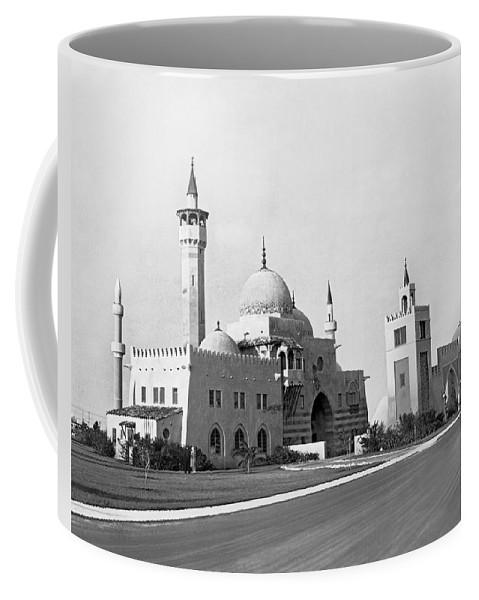 1931 Coffee Mug featuring the photograph The Opa Locka City Hall by Underwood & Underwood