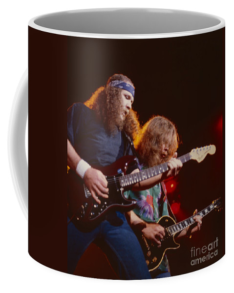 The Outlaws Coffee Mug featuring the photograph The Outlaws - Hughie Thomasson And Billy Jones by Daniel Larsen