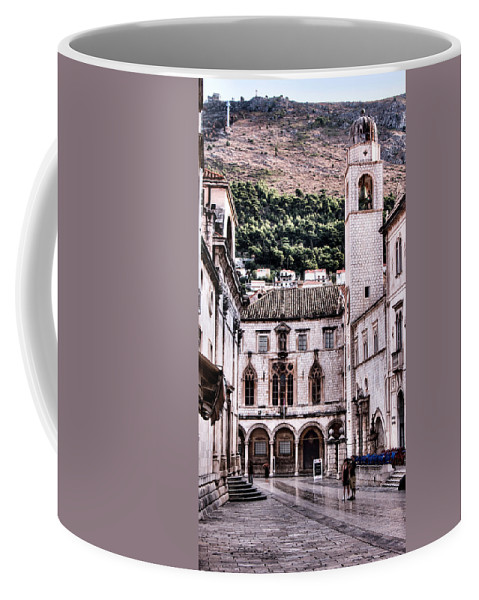 Palace Coffee Mug featuring the photograph The Palace And The Tower by Weston Westmoreland