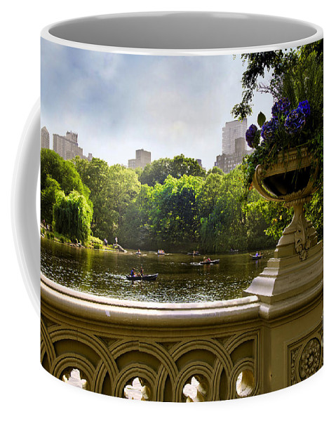 Park Coffee Mug featuring the photograph The Park On A Sunday Afternoon by Madeline Ellis