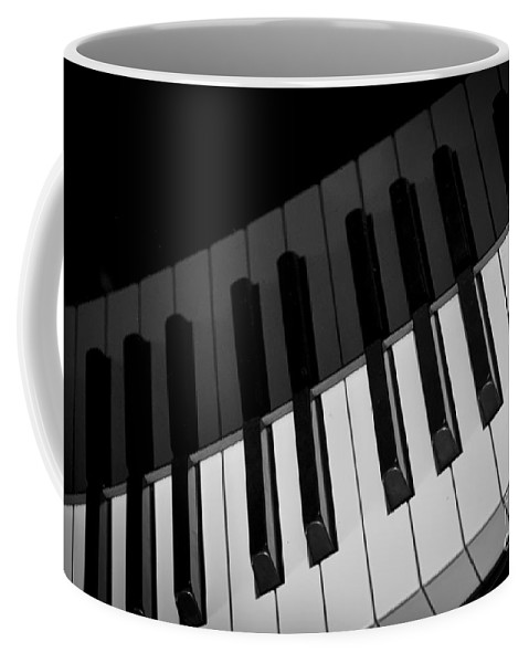Piano Coffee Mug featuring the photograph The Pianist by David Millenheft