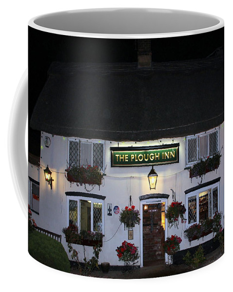 The Plough Inn Coffee Mug featuring the photograph The Plough Inn by Laurel Talabere