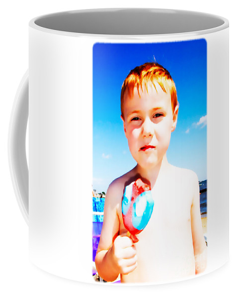 Drip Coffee Mug featuring the photograph The Popsicle by Edward Fielding