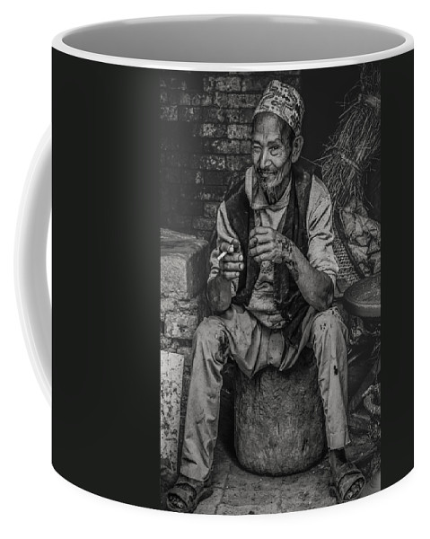 People Coffee Mug featuring the photograph The Potter by Valerie Rosen