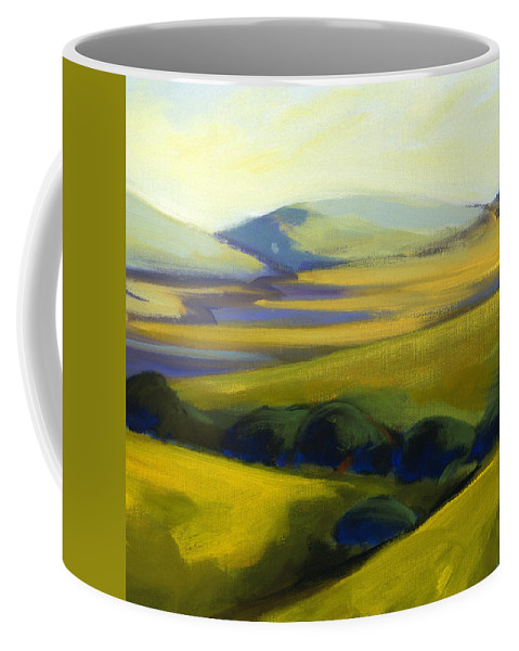 California Coffee Mug featuring the painting The Promise 4 by Konnie Kim