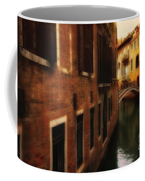 Venice Coffee Mug featuring the photograph The Quiet Canal by Mike Nellums